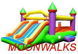 Houston moonwalk rentals, bounces houses, and jumpers for all your kids parties needs.